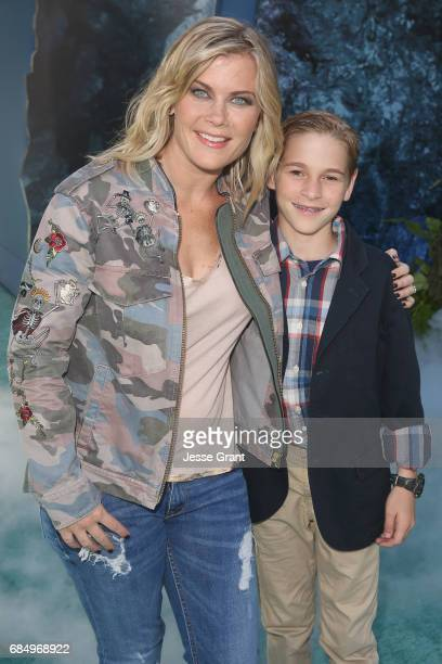 """Actor Alison Sweeney and Benjamin Sanov at the Premiere of Disney's and Jerry Bruckheimer Films' """"Pirates of the Caribbean Dead Men Tell No Tales"""" at..."""