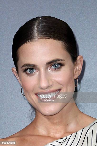 """Actor Alison Williams attends The New York Premiere of Warner Bros. Pictures' and Village Roadshow Pictures' """"Sully"""" at Alice Tully Hall at Lincoln..."""