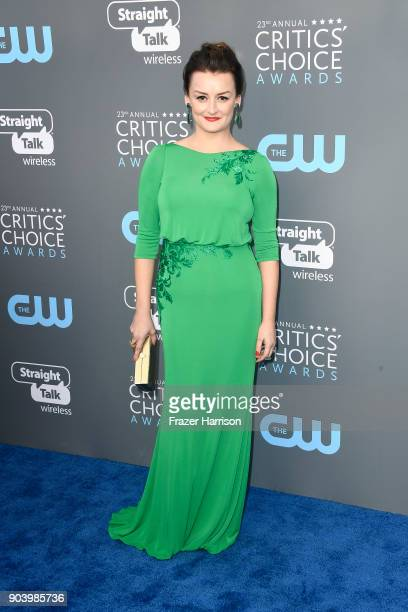 Actor Alison Wright attends The 23rd Annual Critics' Choice Awards at Barker Hangar on January 11 2018 in Santa Monica California