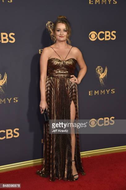 Actor Alison Wright attends the 69th Annual Primetime Emmy Awards at Microsoft Theater on September 17 2017 in Los Angeles California
