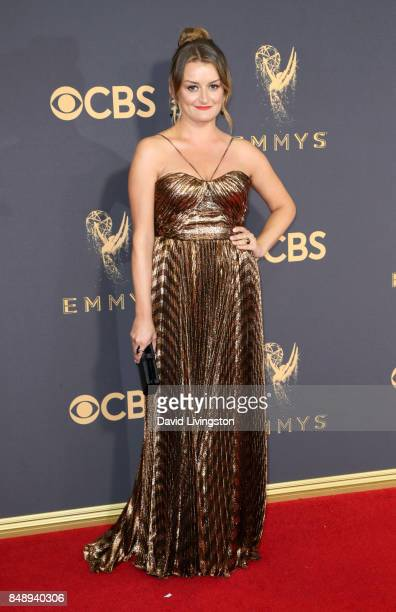 Actor Alison Wright attends the 69th Annual Primetime Emmy Awards Arrivals at Microsoft Theater on September 17 2017 in Los Angeles California