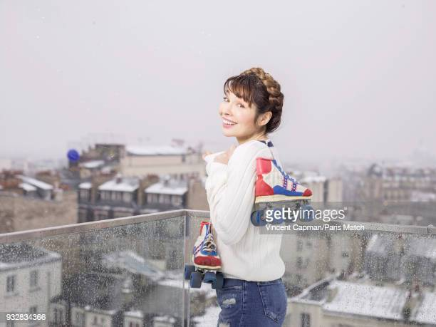 Actor Alix Benezech is photographed for Paris Match on February 6 2018 in Paris France