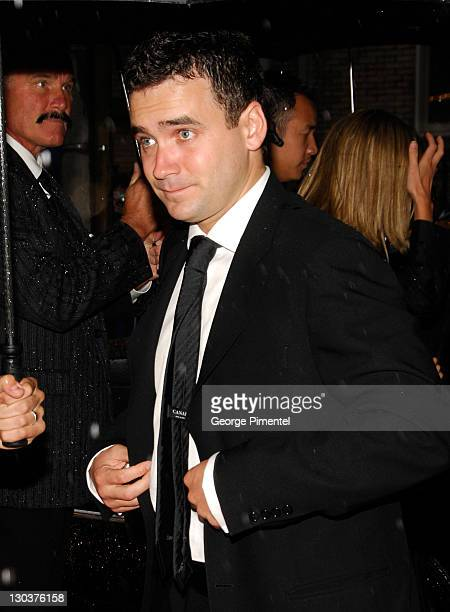 """Actor Allan Hawco attends The 32nd Annual Toronto International Film Festival """"Closing The Ring"""" Premiere at Roy Thomson Hall on September 14, 2007..."""