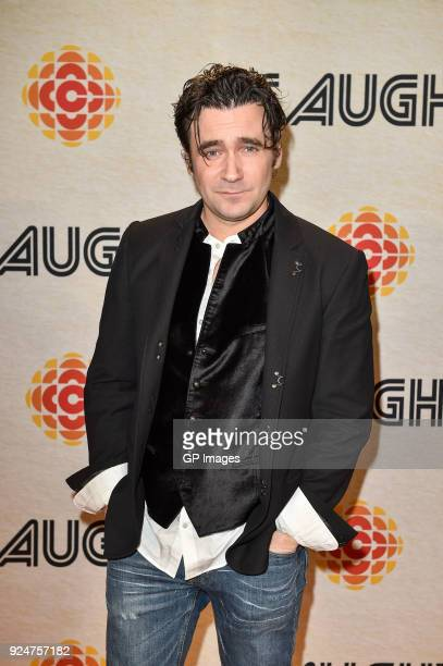 Actor Allan Hawco attends the CBC hosts world premiere of 'Caught' at TIFF Bell Lightbox on February 26 2018 in Toronto Canada