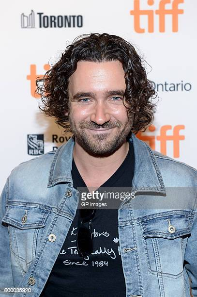 Actor Allan Hawco attends the TIFF Soiree during the 2016 Toronto International Film Festival at TIFF Bell Lightbox on September 7 2016 in Toronto...