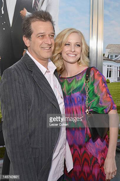 Actor Allen Covert and Kathryn Covert arrive at the Los Angeles premiere of That's My Boy held at Regency Village Theatre Westwood on June 4 2012 in...