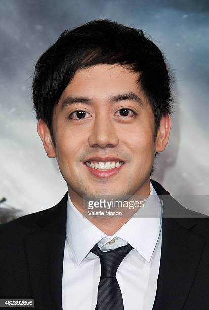 Actor Allen Evangelista arrives at the Premiere Of Paramount Pictures' Project Almanac at TCL Chinese Theatre on January 27 2015 in Hollywood...