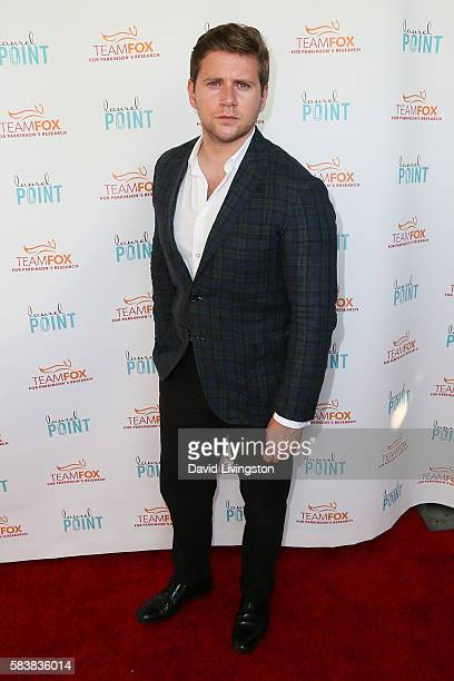 Actor Allen Leech arrives at Raising The Bar To End Parkinson's at Laurel Point on July 27 2016 in Studio City California