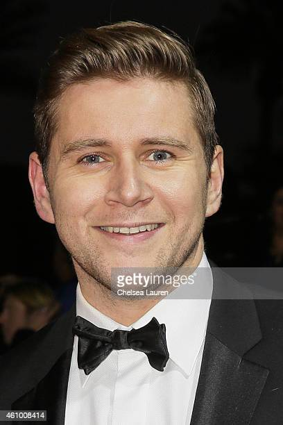 Actor Allen Leech arrives with MercedesBenz at the 26th annual Palm Springs International Film Festival Awards Gala on January 3 2015 in Palm Springs...