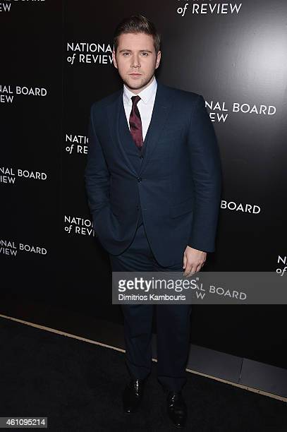 Actor Allen Leech attends the 2014 National Board of Review Gala at Cipriani 42nd Street on January 6 2015 in New York City