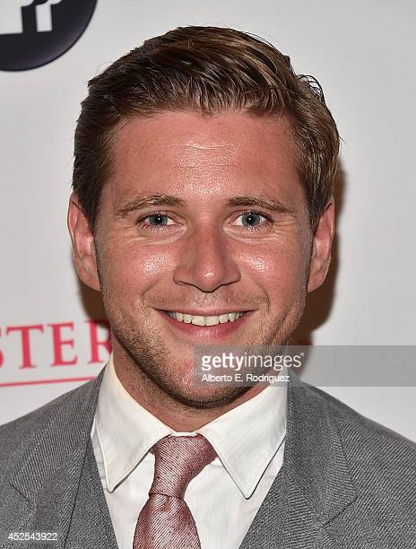 """Actor Allen Leech attends the 2014 Summer TCA Tour """"Downton Abbey"""" Season 5 photocall at The Beverly Hilton Hotel on July 22, 2014 in Beverly Hills,..."""