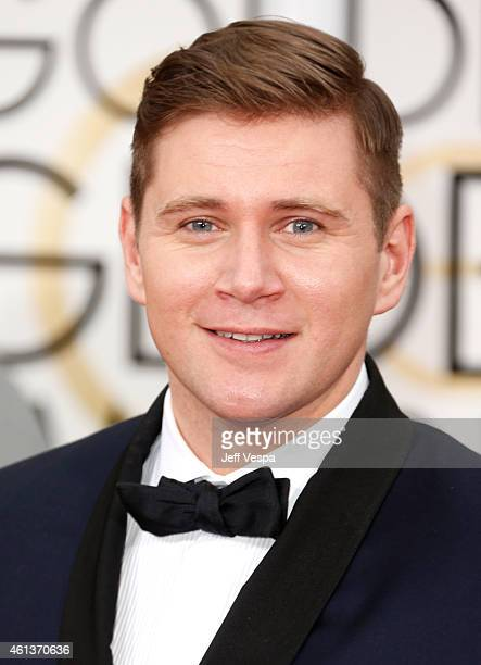 Actor Allen Leech attends the 72nd Annual Golden Globe Awards at The Beverly Hilton Hotel on January 11 2015 in Beverly Hills California