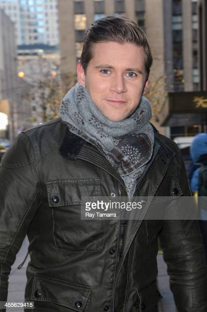 Actor Allen Leech enters the Sirius XM Studios on December 12 2013 in New York City