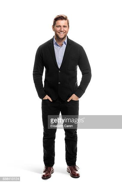 Actor Allen Leech is photographed for Emmy Magazine on December 15 2015 in Los Angeles California Photo by Elisabeth Caren/Contour by Getty Images