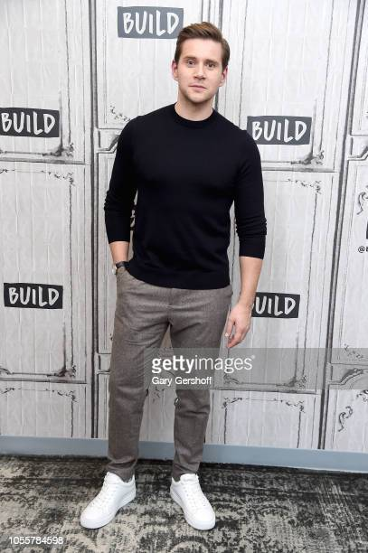 Actor Allen Leech visits Build Series to discuss the films 'Bohemian Rhapsody' and 'Downton Abbey' at Build Studio on October 31 2018 in New York City