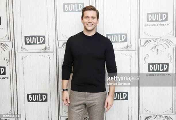 Actor Allen Leech visits Build Studio to discuss the films 'Bohemian Rhapsody' and 'Downton Abbey' on October 31 2018 in New York City