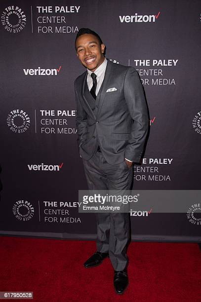 Actor Allen Maldonado arrives at The Paley Center for Media's Hollywood Tribute to Hispanic Achievements in Television event at the Beverly Wilshire...