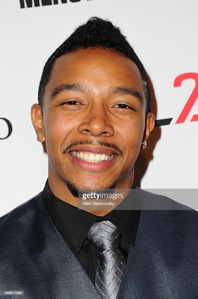 Actor Allen Maldonado attends Men's Fitness Magazine Hosts Annual 'Game Changers' Celebration at Palihouse on September 24, 2015 in West Hollywood, California.