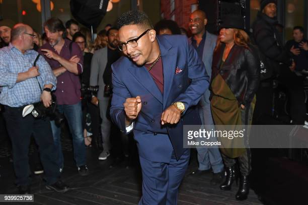 Actor Allen Maldonado attends TBS' The Last OG Premiere at The William Vale on March 29 2018 in New York City 27038_012