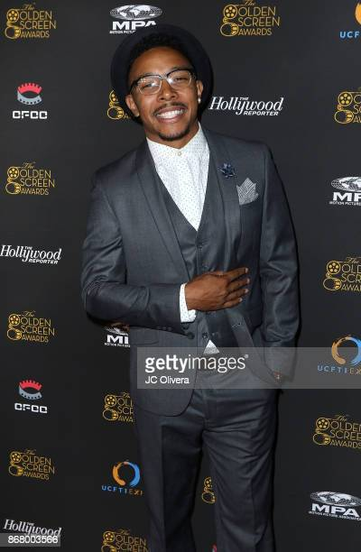 Actor Allen Maldonado attends the 2nd Annual Golden Screen Awards hosted by US China Film and TV Industry Expo at The Novo by Microsoft on October 29...