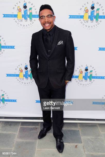 Actor Allen Maldonado attends the 'I Have A Dream' Foundation's 5th Annual Los Angeles' Dreamer Dinner at Skirball Cultural Center on March 18 2018...