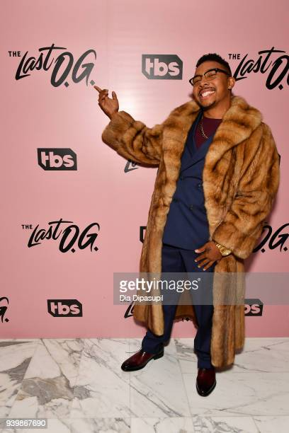 Actor Allen Maldonado attends 'The Last OG' New York Premiere at The William Vale on March 29 2018 in New York City