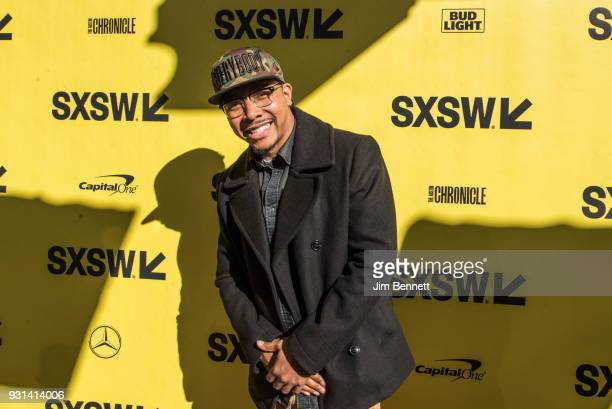 Actor Allen Maldonado walks the red carpet during the SXSW Film premiere of 'The Last OG' on March 12 2018 in Austin Texas