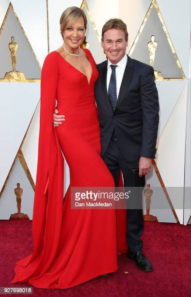 Actor Allison Janney and Steve Rogers attend the 90th Annual Academy Awards at Hollywood Highland Center on March 4 2018 in Hollywood California