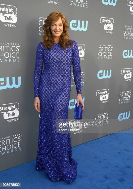 Actor Allison Janney attends The 23rd Annual Critics' Choice Awards at Barker Hangar on January 11 2018 in Santa Monica California