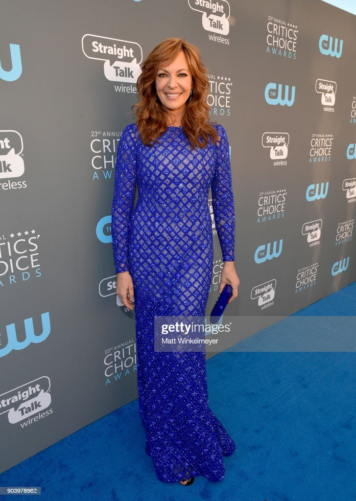 Actor Allison Janney attends The 23rd Annual Critics' Choice Awards at Barker Hangar on January 11, 2018 in Santa Monica, California.