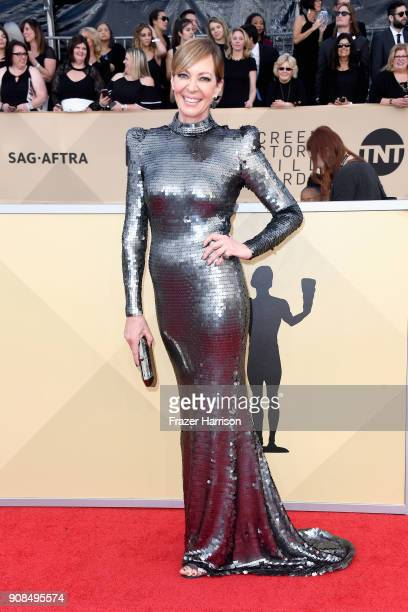 Actor Allison Janney attends the 24th Annual Screen Actors Guild Awards at The Shrine Auditorium on January 21 2018 in Los Angeles California