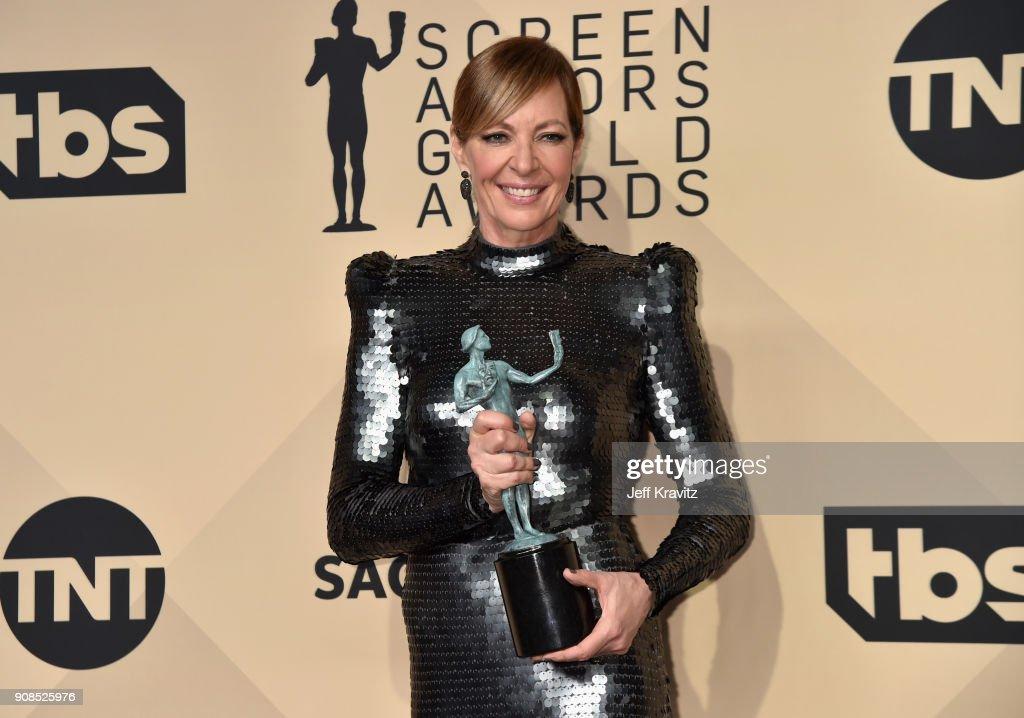24th Annual Screen ActorsGuild Awards - Press Room