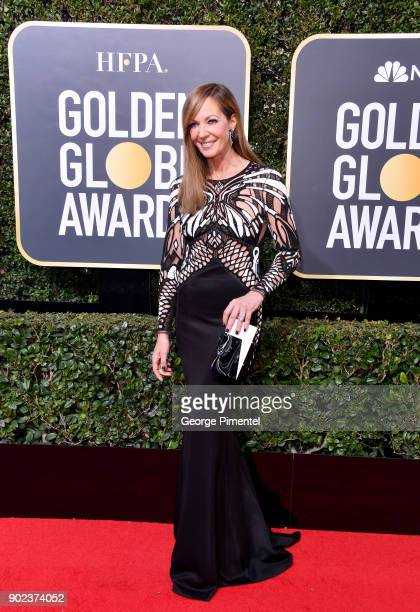 Actor Allison Janney attends The 75th Annual Golden Globe Awards at The Beverly Hilton Hotel on January 7 2018 in Beverly Hills California