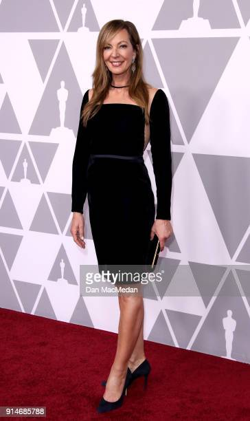 Actor Allison Janney attends the 90th Annual Academy Awards Nominee Luncheon at The Beverly Hilton Hotel on February 5 2018 in Beverly Hills...