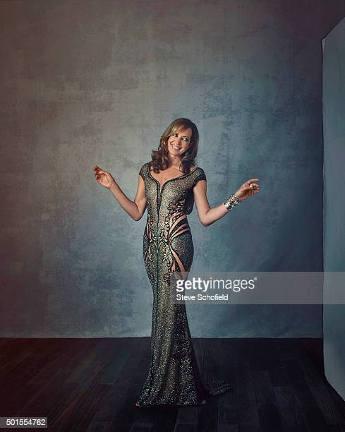 Actor Allison Janney is photographed for Emmy magazine on September 20 2015 in Los Angeles California
