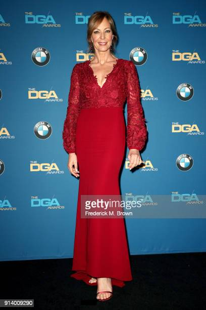 Actor Allison Janney poses in the press room during the 70th Annual Directors Guild Of America Awards at The Beverly Hilton Hotel on February 3 2018...