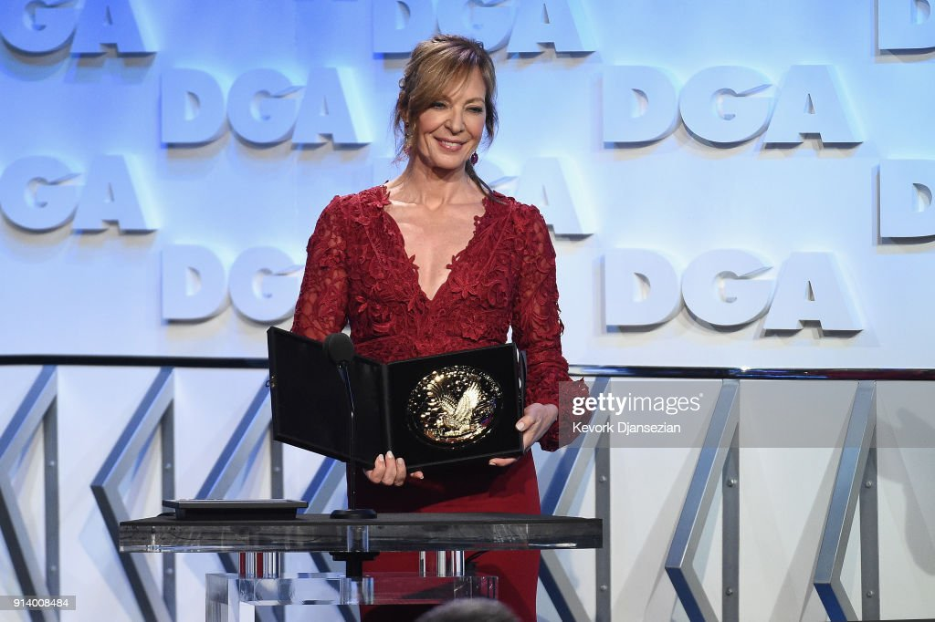 Actor Allison Janney speaks onstage during the 70th Annual Directors Guild Of America Awards at The Beverly Hilton Hotel on February 3, 2018 in Beverly Hills, California.