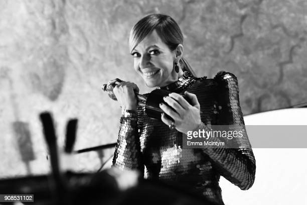 Actor Allison Janney winner of the Outstanding Performance by a Female Actor in a Supporting Role award for 'I Tonya' attends the 24th Annual Screen...