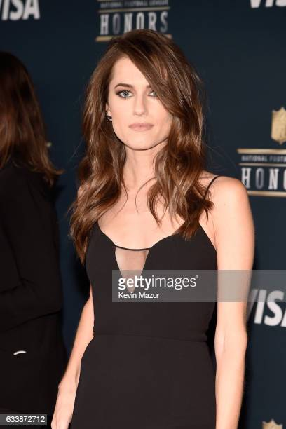 Actor Allison Williams attends 6th Annual NFL Honors at Wortham Theater Center on February 4 2017 in Houston Texas