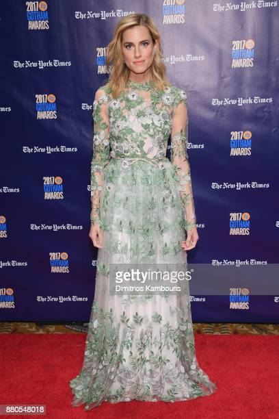 Actor Allison Williams attends IFP's 27th Annual Gotham Independent Film Awards on November 27 2017 in New York City