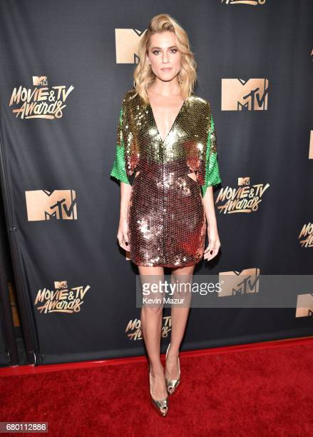 Actor Allison Williams attends the 2017 MTV Movie And TV Awards at The Shrine Auditorium on May 7 2017 in Los Angeles California
