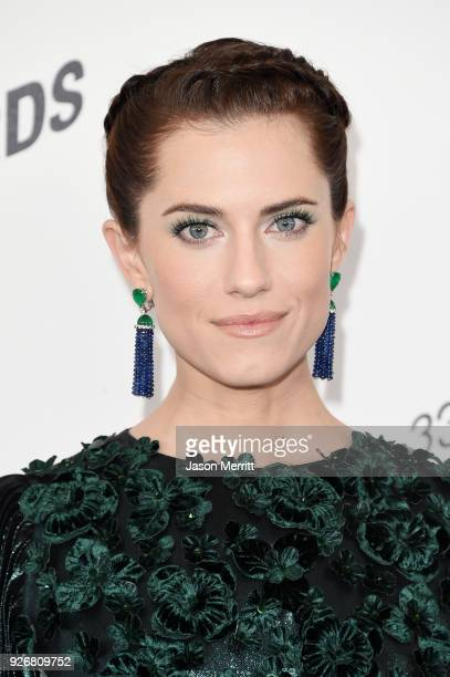 Actor Allison Williams attends the 2018 Film Independent Spirit Awards on March 3 2018 in Santa Monica California