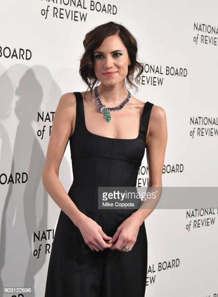 Actor Allison Williams attends the 2018 The National Board Of Review Annual Awards Gala at Cipriani 42nd Street on January 9 2018 in New York City