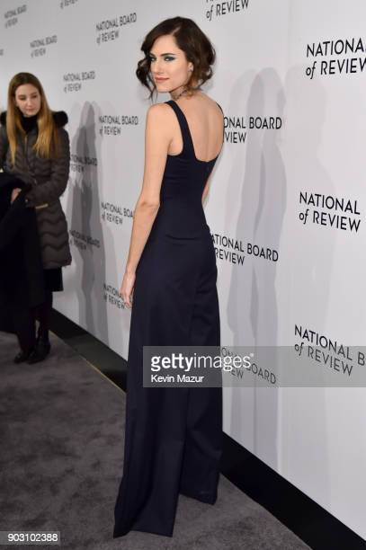 Actor Allison Williams attends the The National Board Of Review Annual Awards Gala at Cipriani 42nd Street on January 9 2018 in New York City