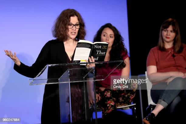 Actor Ally Sheedy speaks onstage during Vulture Festival Presented By ATT at Milk Studios on May 19 2018 in New York City