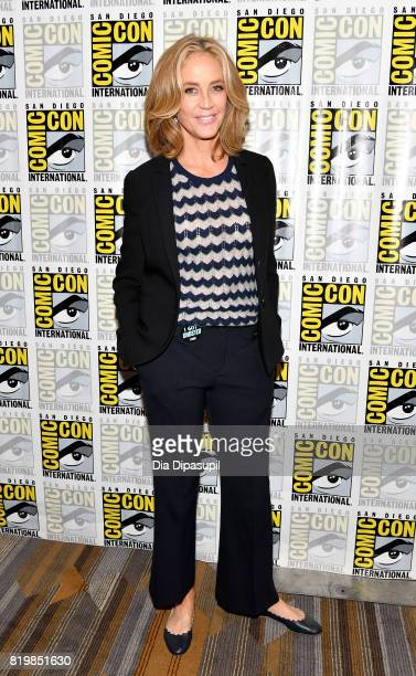 Actor Ally Walker at the 'Ghosted' press line during ComicCon International 2017 at Hilton Bayfront on July 20 2017 in San Diego California