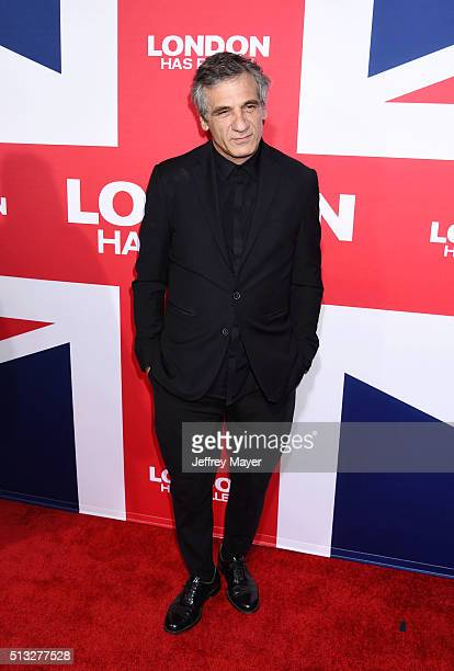 Actor Alon Aboutboul attends the premiere of Focus Features' 'London Has Fallen' held at ArcLight Cinemas Cinerama Dome on March 1 2016 in Hollywood...