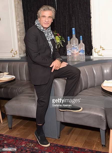 Actor Alon Aboutboul attends the Septembers of Shiraz TIFF Party Hosted By GREY GOOSE Vodka at Byblos on September 15 2015 in Toronto Canada