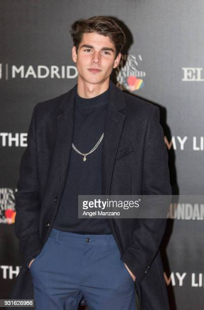 Actor Alvaro Mel attends 'The Best Day Of My Life' Madrid premiere at Callao cinema on March 13 2018 in Madrid Spain