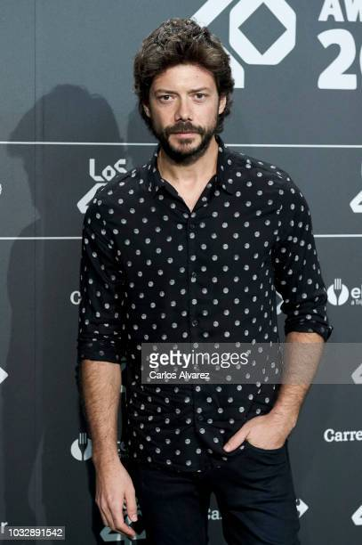 Actor Alvaro Morte attends the '40 Principales' awards nominated dinner at the Florida Park Club on September 13 2018 in Madrid Spain